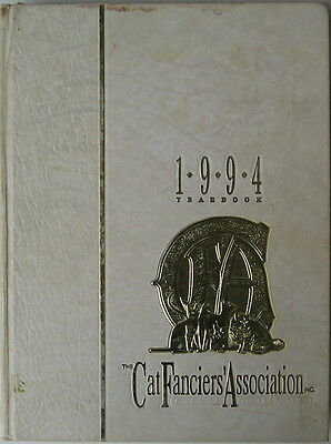 Vintage Cat Book  The Cat Fanciiers' Association Inc.  1994 Yearbook