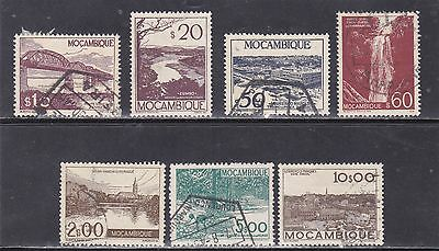MOZAMBIQUE STAMPS (1948-49)   Used