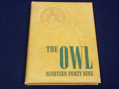 1949 The Owl University Of Pittsburgh College Yearbook Pennsylvania - Yb 661