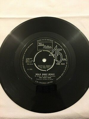 "The Four Tops - Walk Away Renee - 7"" Single"