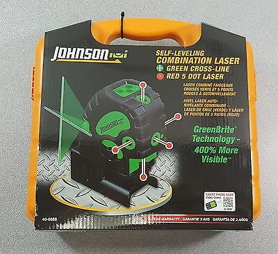 Johnson Self-Leveling Combination Laser New!
