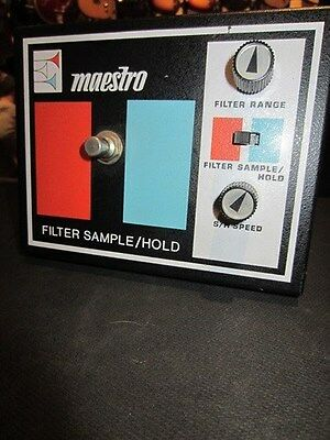 Vintage 1974 Maestro Filter Sample/Hold Super Rare Effects Pedal Awesome!