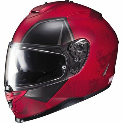 HJC IS-17 Marvel Deadpool Full Face Helmet Motorcycle Helmet