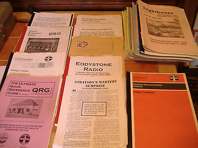 Job Lot of EDDYSONE RADIO Magazines (EUG Newsletters) and other booklets.