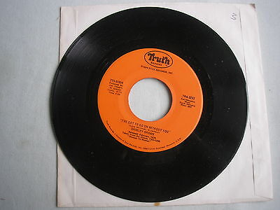 "SHIRLEY BROWN I've Got To Go On Without You US 7"" single 1975 ex+"