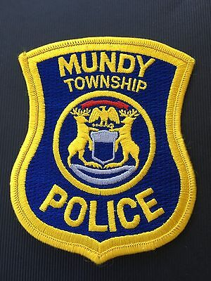 Mundy Township  Michigan  Police  Shoulder Patch