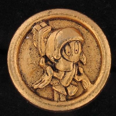 CHARM Marvin The Martian WARNER BROS LOONEY TUNES WB STORE Gold 4059