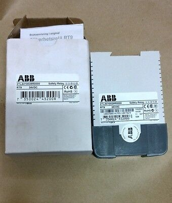 ABB SAFETY RELAY 2TLA010029R0000 RT9 24VDC New OS in original box