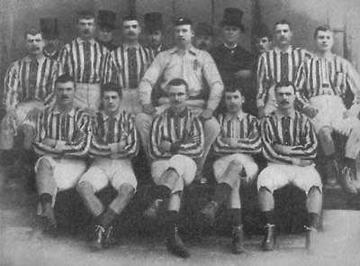 West Bromwich Albion Football Team Photo>1887-88 Season