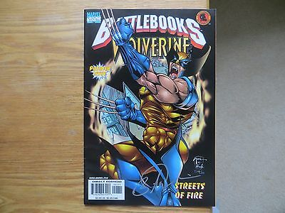 1998 Marvel Comics Battlebooks Wolverine Signed By Billy Tucci, With Poa