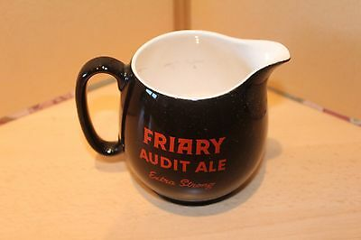 FRIARY AUDIT ALE EXTRA STRONG - MEUX'S TREBLE GOLD PALE ALE - WATER JUG By WADE