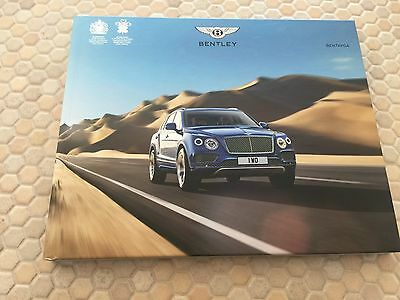 Bentley Official Bentayga Suv Second Prestige Sales Brochure 2017 Usa Edition