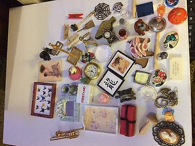 1:12th scale dolls house lot of items