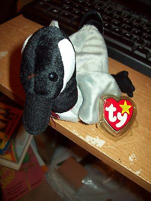 Ty Beanie Babies Collection Loosey The Goose Date Of Birth 03-29-1998 Retired