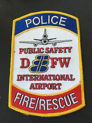 Dallas Forth Worth Texas Airport Police  Shoulder Patch