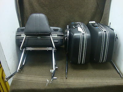 79 Honda Gl1000 Gl 1000 Goldwing Luggage Set, Saddlebags, Trunk (Samsonite) #yp1