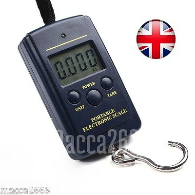 Digital Luggage Scales 10g-40kg Portable Pocket Electronic Hanging Weighing Hook