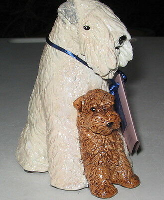 Vintage Soft Coated Wheaten Terrier Limited Edition Figurine