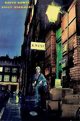 DAVID BOWIE Poster - ZIGGY STARDUST - BOWIE Music poster PP30750