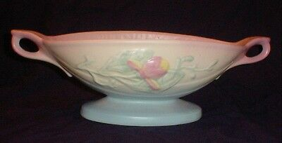 """Hull Art U.s.a. Console Bowl, Marked 26-12/2, 13 & 3/4"""" Long, 5 & 3/4"""" Wide"""