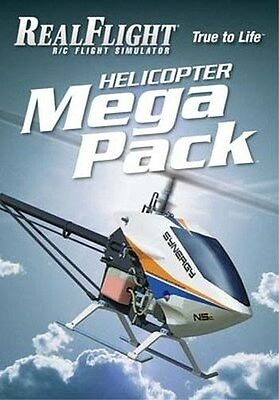 RealFlight R/C Flight Simulator Helicopter Mega Pack - Adds over 45  Helis!