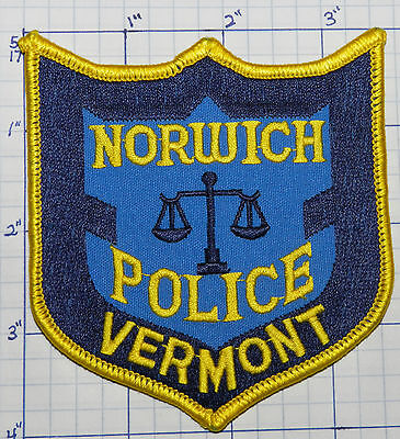 Vermont, Norwich Police Dept Patch