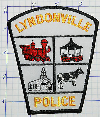 Vermont, Lyndonville Police Dept White Patch