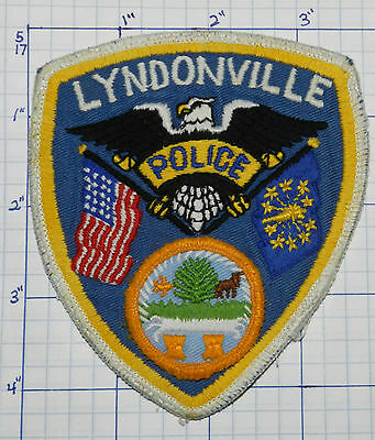 Vermont, Lyndonville Police Dept Eagle Version 2 Patch
