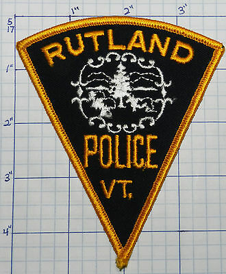 Vermont, Rutland Police Dept Triangle Patch