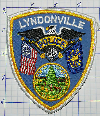 Vermont, Lyndonville Police Dept Eagle Version 1 Patch