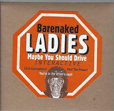 """Barenaked Ladies """"maybe You Should Drive"""" Interactive Cd-Rom (Pc) Sealed & New"""