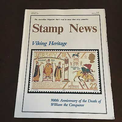 Stamp News. Monthly Magazine For Stamp Collectors. Sept 1987, Vol 35. No.9