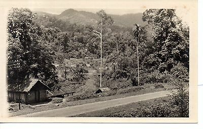 Great photo, View from 6th mile. Cooly lines on Tras-Bentong Road, Malaya.1933