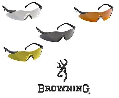 Browning Glasses Claybuster Shooting Glasses  All Colours & Styles