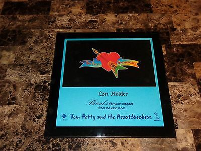 Tom Petty & The Heartbreakers Rare 1976 Industry Award Wood In House Plaque WOW