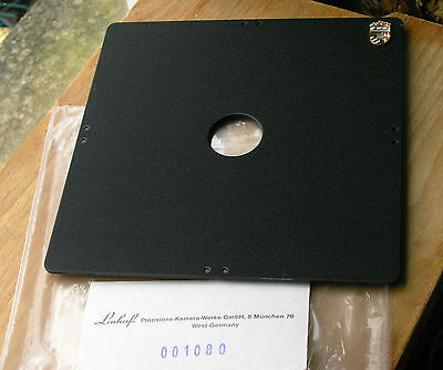 Linhof 162mm Square  Kardan compur 00  Lens board  26mm hole