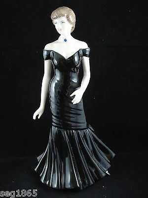 Coalport Ltd. Edition Figurine - Diana Forever In Our Hearts