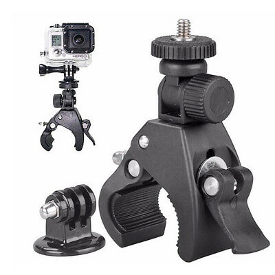 Handlebar Camera Mount Adapter Clamp Support for Action Camera Gopro