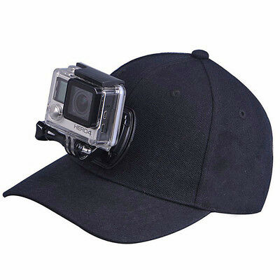 Baseball Cap Quick Release Buckle Head Mount Sport Camera Gopro Hero 5 4 3 3+