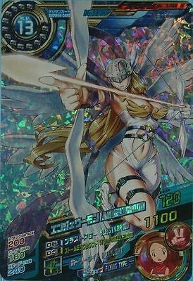 Bandai Digimon Fusion Xros Wars Data Carddass SP ED 2 Ultra Rare Card Angewomon