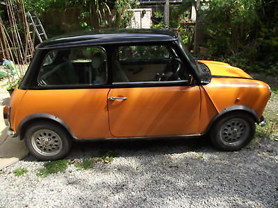 Classic Rover Mini 1275cc 1998. MPI. HLS (Cooper engine) Rebuilt with long MOT