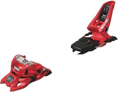 Marker Adult Unisex Squire 11 ID Ski Bindings, 90mm Red