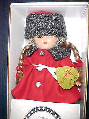 """Effanbee Doll Patricia Kins Travel Time Replica 2000 MINT NEW COLLECTOR 11"""" Box"""