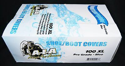 100  Waterproof Shoe Covers / Boot Covers  Size 2Xl Premium Disposable Plumbers