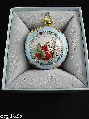 Halcyon Days Enamels - The 2005 Christmas Sphere - Limited Edition