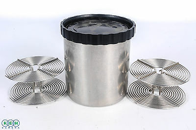 Kalt Stainless Steel Developing Tank with 2 Reels