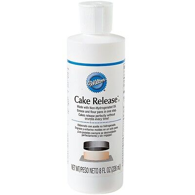 Wilton Cake Release Non-Stick Greaser 236ml Cake Baking and Decorating