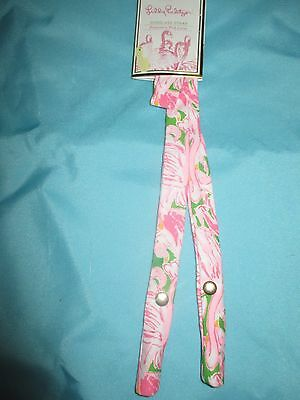 NEW Lilly Pulitzer Pink Colony Sunglass Strap Pink Flamingos