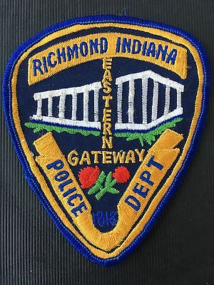 Richmond  Indiana  Police   Shoulder  Patch