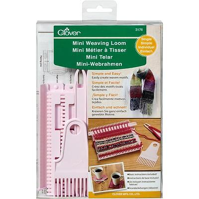 Clover Mini Weaving Loom (Single) 3176
